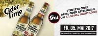 Cider Time im GEI Musikclub, Timelkam@GEI Musikclub