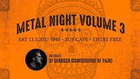 Metal Night Vol.3@SUB