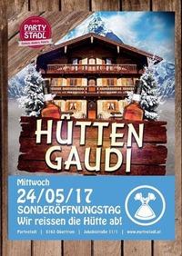 Hütten Gaudi@Partystadl