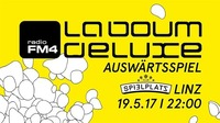FM4 La Boum De Luxe - Auswärtsspiel Linz@Club Spielplatz