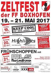 Zeltfest der FF Edla-Boxhofen 2017@Festzelt Boxhofen
