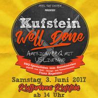 Kufstein Well Done - American Streetfood-BBQ mit US-Live-Band@Kulturhaus Kufstein
