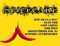 Spicecake & gutmenschen in concert@Café Carina