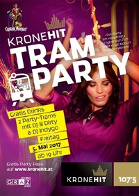 Die KRONEHIT Tram Party@Club Motion
