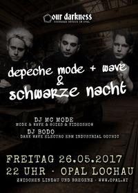 Depeche Mode & Wave | Schwarze Nacht@Opal