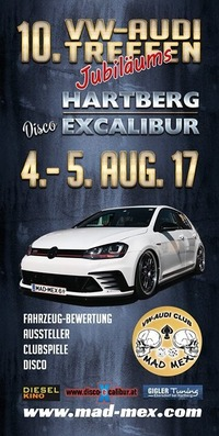 10. VW-AUDI-Treffen Hartberg@Excalibur