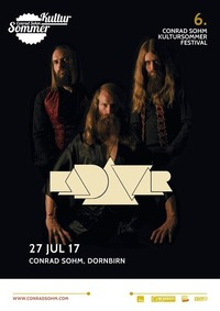 Kadavar / 27. Juli 2017 / 6. Kultursommer-Festival@Conrad Sohm