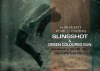 Slingshot & Green Coloured Sun at Cafe Carina@Café Carina