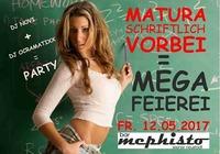 Matura Teil 1 vorbei = Megafeierei :-)@Bar Mephisto