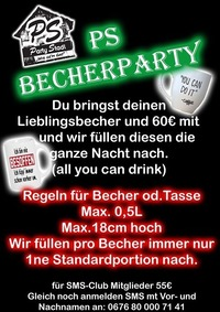 PS Becher Party@Party Stadl