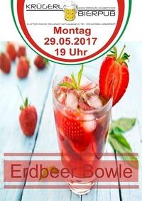 Erdbeer Bowle@Bierpub Krügerl