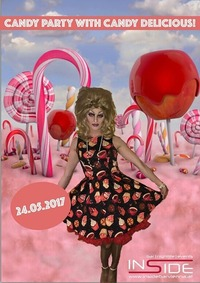 Candy Party mit Candy Licious@Inside Bar