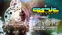 COSMIC POOLPARTY – Psy-Fi Special mit AVALON live & Alien Transition live