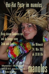 Hot - Hat Party im Manolos@Manolos