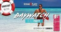 Baywatch BEACH Party@Schauplatz