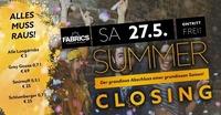 Summer Closing 2017!@Fabrics - Musicclub