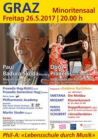 """""""Goldene Raritäten"""" Jubiläumskonzert mit Paul Badura-Skoda @Minoritensaal"""