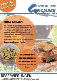 FINAL Grillabend@Après-Ski Bar Geigaloch