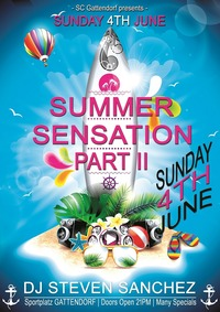 SUMMER SENSATION _ Part II@Sportplatz Gattendorf