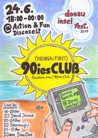 90ies Club: Summer Special #2 @ Donauinselfest@Donauinsel