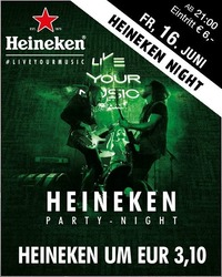 Heineken Party Night@Mausefalle