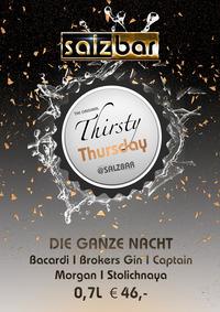 Thirsty Thursday @Salzbar@Salzbar