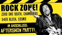 ROCK ZONE: Zero One Death, Chamber40, 54er Blech, Cosmo@Viper Room
