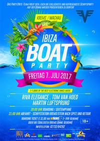 Ibiza BOAT PARTY ☼ Wachau ☼ 2017@Tor zur Wachau - Krems/Stein