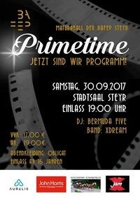 Primetime - Jetzt sind wir Programm!@Stadtsaal Steyr