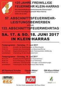 Abschnittsfeuerwehrleistungsbewerb und Abschnittsfeuerwehrtag 2017@Freiwillige Feuerwehr Klein-Harras