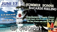 Bacardi Feeling@Discothek Concorde
