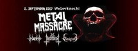 Metal Massacre@Weberknecht