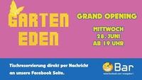 ►► Garten Eden - Grand Opening ◄ ◄@Orange Bar