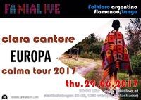 Clara Cantore // Europa Tour 2017 Fania LIVE@Fania Live