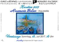 Rosemarie Bolzer Kroatien 2017@Cafe Club International C.I.