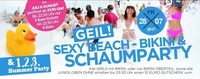 Geil!!!sexy Beach - Bikini & Schaum Party!@Bollwerk