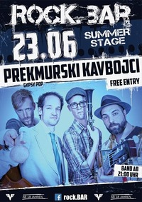 Prekmurski Kavbojci live at rock.BARs Summerstage@rock.Bar