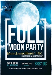 Maßbandlfeier - Full Moon / Brs Freilassing 10c@Johnnys - The Castle of Emotions