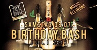 Birthday Bash Juli 2017@Eventhouse Freilassing