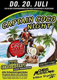Captain Coco Night XXL Schaumparty@Excalibur