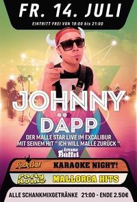 Johnny Däpp aka Lorenz Büffel LIVE@Excalibur