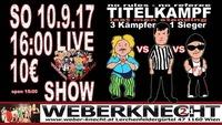 WUW last-man-standing Wrestlingshow@Weberknecht