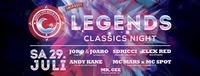 Legends / Classics Night - Samstag 29.Juli VCBC@Vienna City Beach Club