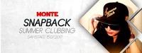 Snapback Summer Clubbing@Monte