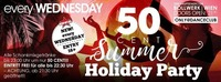 50 Cent Summer Holiday Party!@Bollwerk