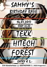 Sammy's Birthday RAVE@CiK - Künstlerhaus