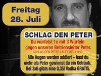Schlag den Peter – Würfeln@Mausefalle