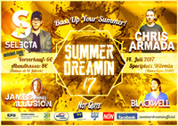 Summerdreamin' 17 presents DJ Selecta + Chris Armada@Sportplatz Würmla