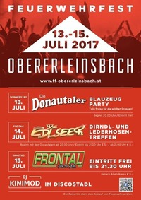 Feuerwehrfest Obererleinsbach mit Frontal@Stegen
