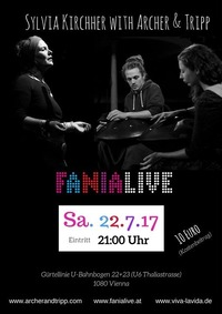Silvia Kirchher with Archer & tripp@Fania Live
